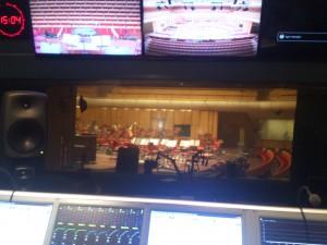 Utsikt från inspelningsrummet
